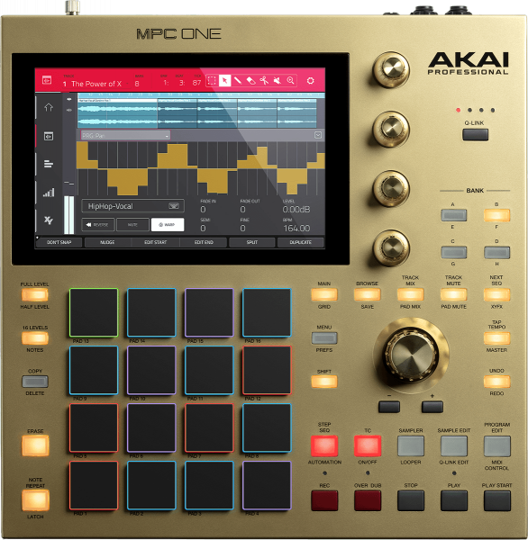 Sampler Akai MPC One gold