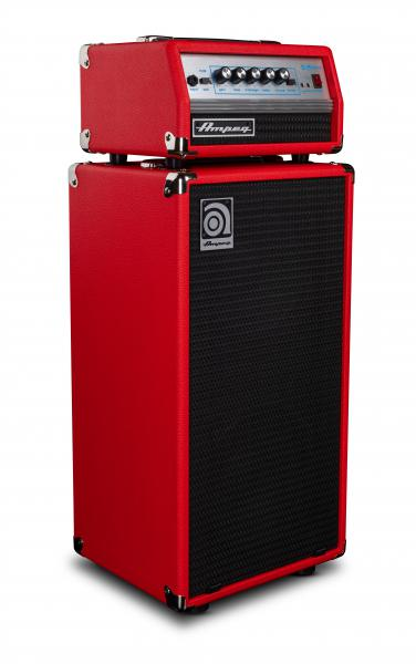 Stack amplificador bajo Ampeg MICRO VR STACK RED LIMITED EDITION 2X10 200W