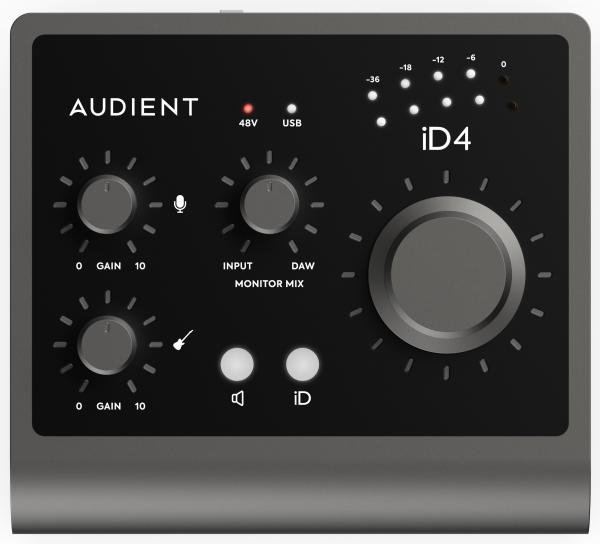 Interface de audio usb Audient ID4 MKII