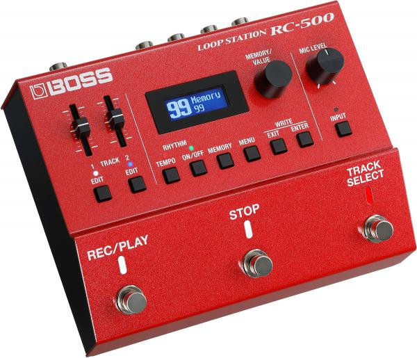 Pedal looper Boss RC-500 Loop Station