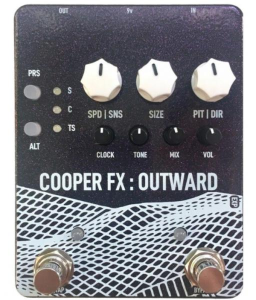 Pedal looper Cooper fx Outward V2