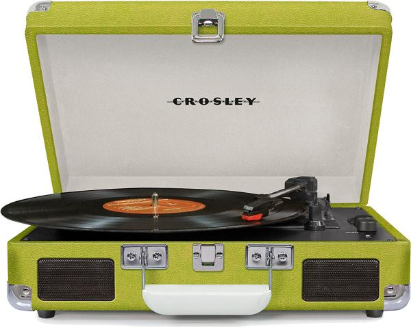 Platos hifi Crosley Cruiser Deluxe Green