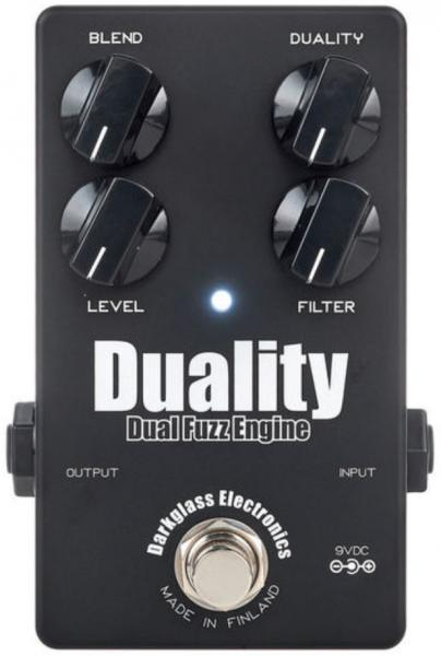 Pedal overdrive / distorsión / fuzz Darkglass Duality Fuzz Engine Ltd - Black