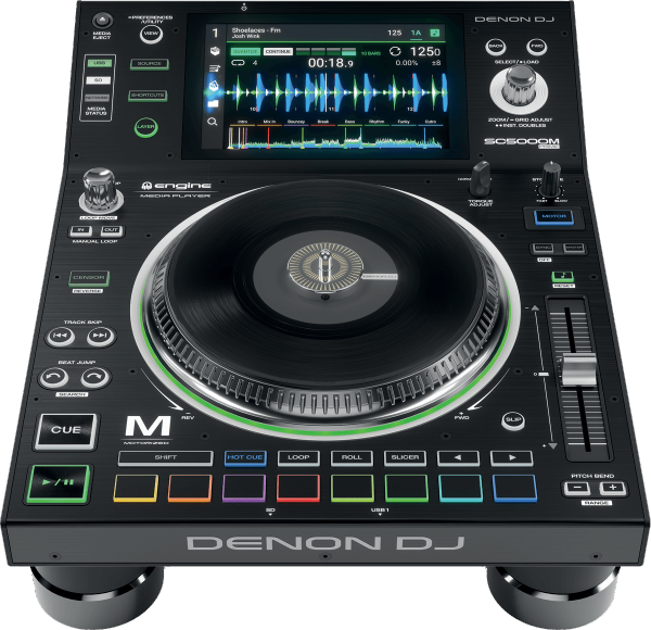 Plato mp3 & cd Denon dj Sc5000M Prime