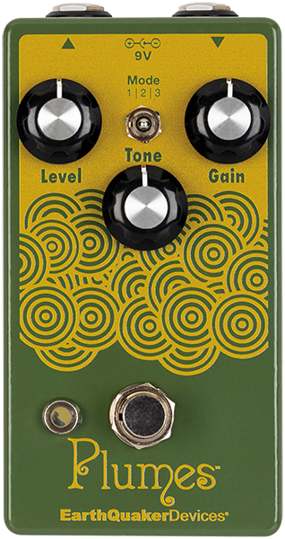 Pedal overdrive / distorsión / fuzz Earthquaker Plumes Overdrive
