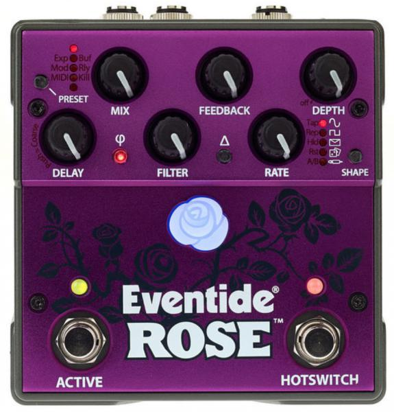 Pedal de reverb / delay / eco Eventide Rose Modulated Delay