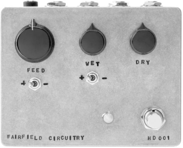 Pedal ecualizador / enhancer Fairfield circuitry Hors d'Oeuvre? Active Feedback Loop