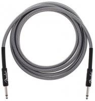 Cable Fender Professional Instrument Cable, Straight/Straight, 10ft - White Tweed