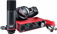 Pack home estudio Focusrite Scarlett 3 2i2 Studio