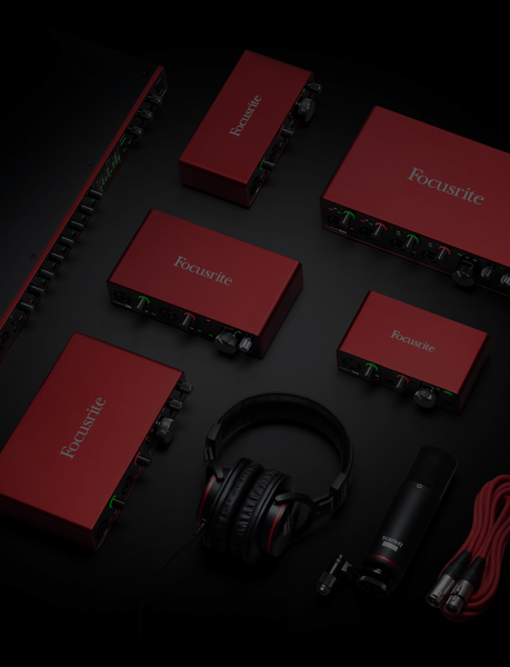Interface de audio Focusrite Scarlett 4I4 G3