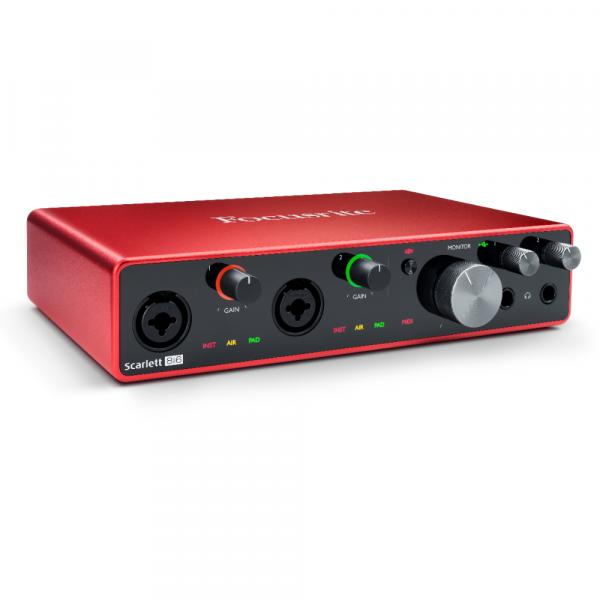 Interface de audio Focusrite Scarlett 8I6 G3