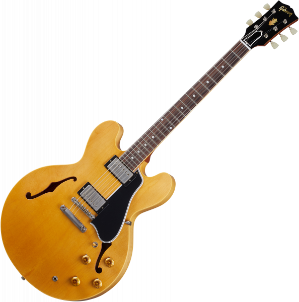 Guitarra eléctrica semi caja Gibson Custom Shop Murphy Lab 1959 ES-335 Reissue - Ultra light aged vintage natural