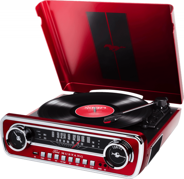 Platos hifi Ion Mustang Lp Red