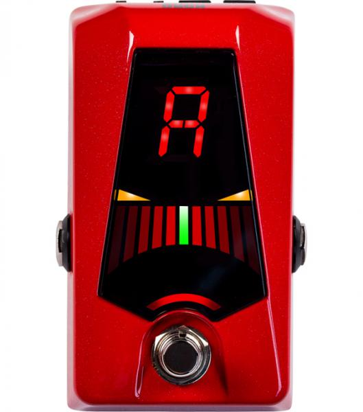 Afinador pedal Korg Pitchblack Advance Pedal Tuner - Red