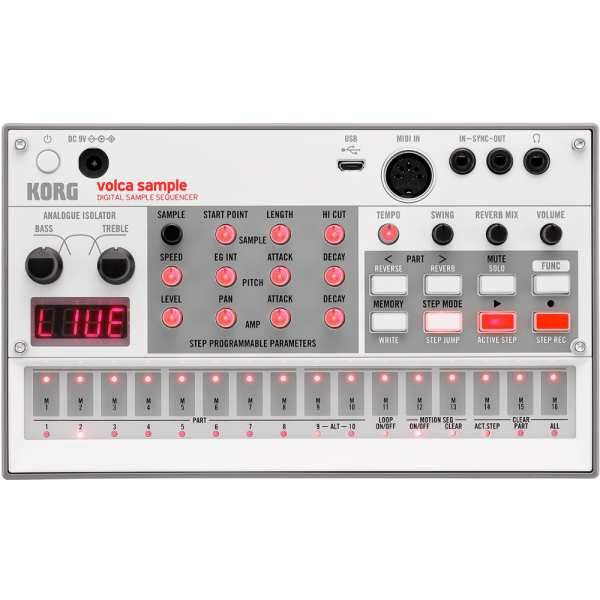 Sampler Korg Volca Sample 2