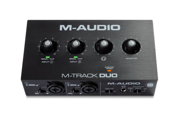 Interface de audio usb M-audio M-Track Duo