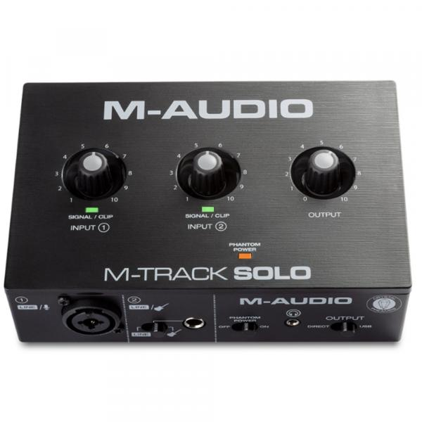 Interface de audio usb M-audio M-Track Solo