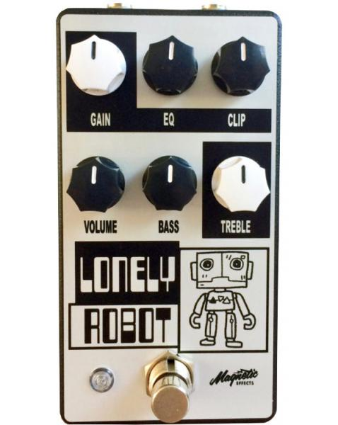 Pedal overdrive / distorsión / fuzz Magnetic effects Lonely Robot Overdrive/Distortion