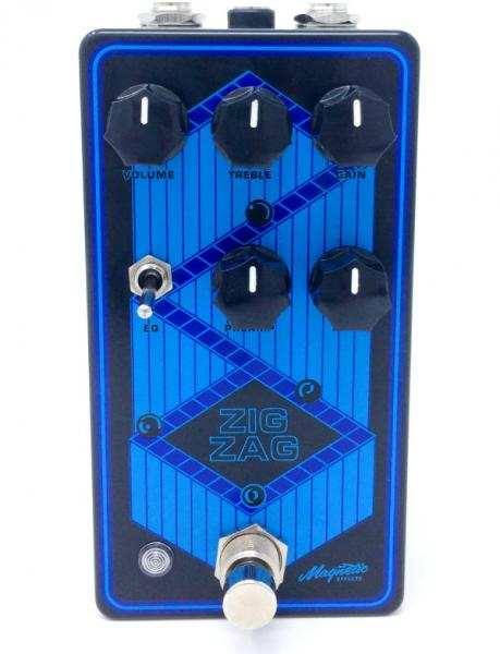Pedal overdrive / distorsión / fuzz Magnetic effects Zig Zag Dual Stage Overdrive