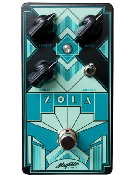 Pedal de volumen / booster / expresión Magnetic effect Zola Clean Boost
