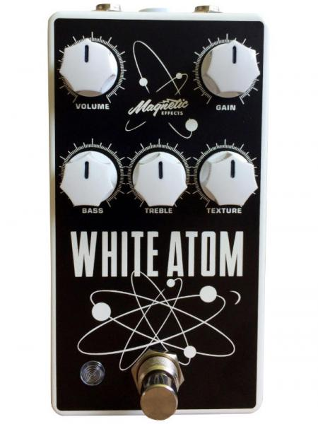 Pedal overdrive / distorsión / fuzz Magnetic effects White Atom V3 Silicon/Germanium Fuzz