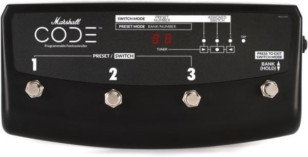 Pedalera para amplificador Marshall PEDL-91009 4-way For Code Amplifiers