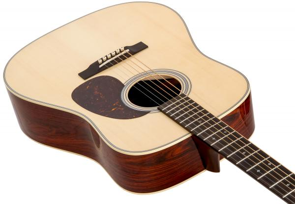 Guitarra acústica & electro Martin Custom Shop Dreadnought #2375250 - natural