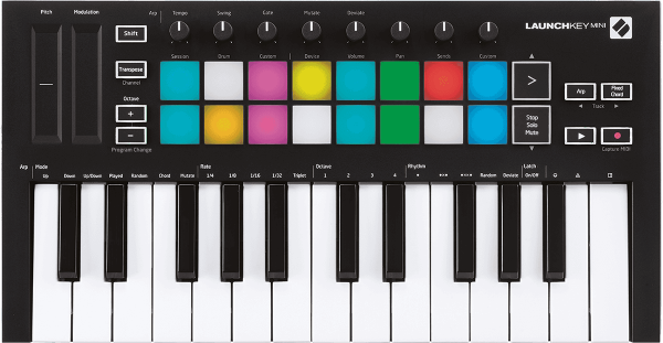 Teclado maestro Novation Launchkey Mini MK3