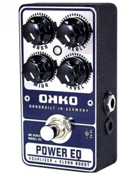 Pedal ecualizador / enhancer Okko Power EQ