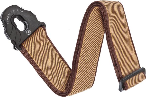 Correa Planet waves 50PLB06 Lock Woven Polypropylene Guitar Strap - Tweed