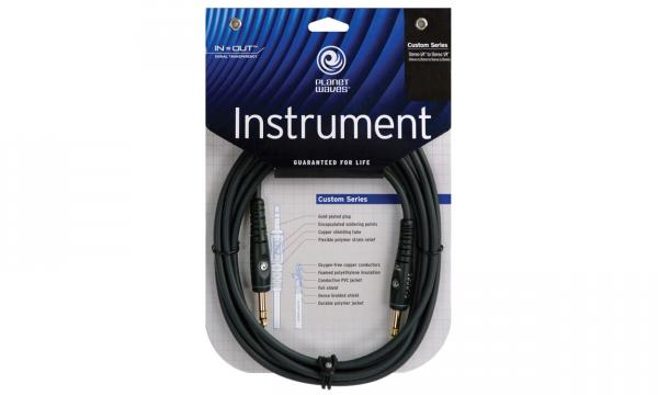 Cable Planet waves G10 Custom Gold jack/jack - 3m