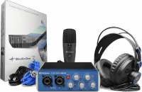 Pack home estudio Presonus AudioBox 96 Studio