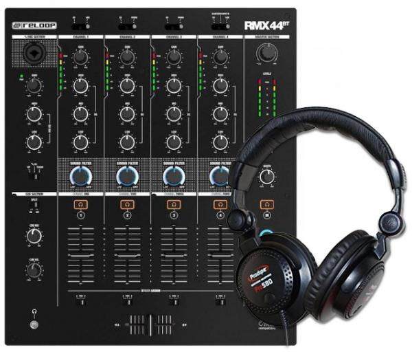 Other Reloop RMX-44 BT + Casque Pro580