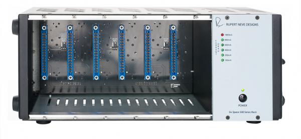 Rack de estudio Rupert neve design R6 - 500 series