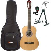 Guitarra clásica 4/4 Silvanez CL44-NAT +X-Tone 2002 Bag Pack - Natural