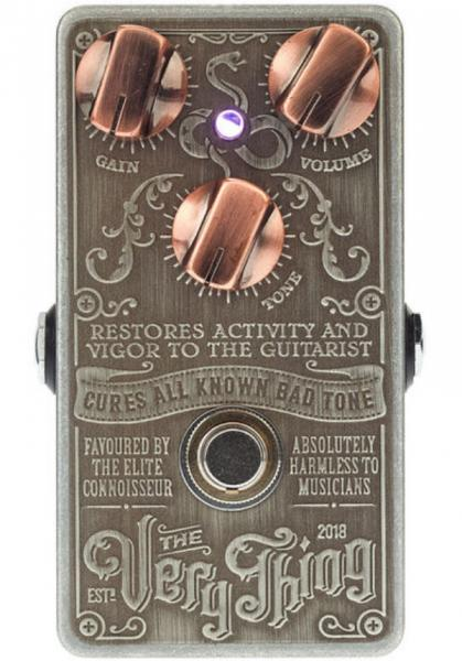 Pedal overdrive / distorsión / fuzz Snake oil The Very Thing Boost
