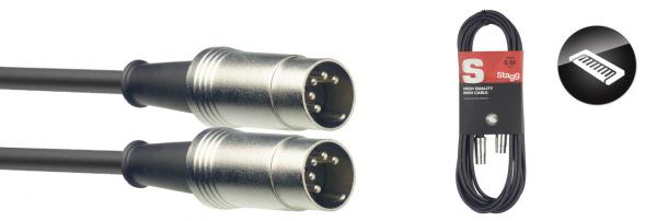 Cable Stagg SMD10 DIN/DIN (m/m) - 10m