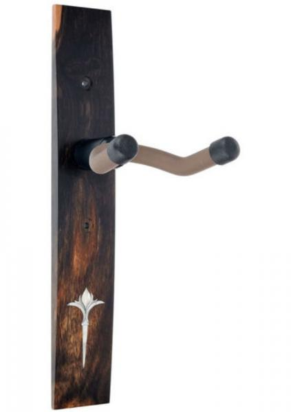 Soportes  Taylor Nouveau Guitar Hanger - Ebony, Acrilyc Inlay - Ebony, No Inlay