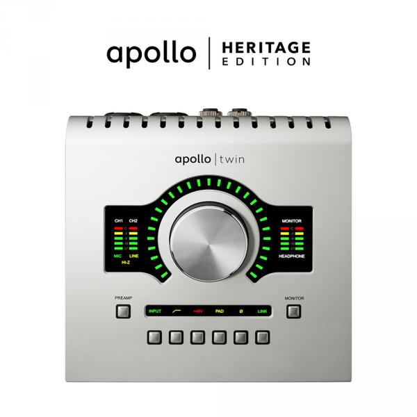Interface de audio usb Universal audio Apollo Twin USB Duo Heritage Edition