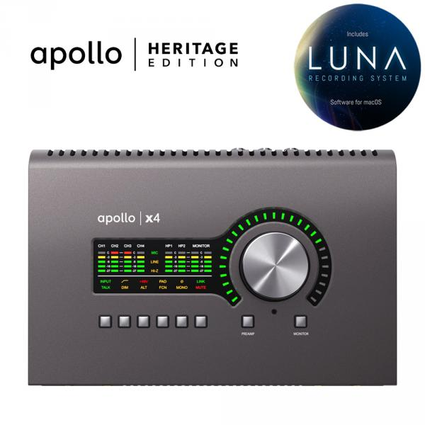 Interface de audio thunderbolt Universal audio Apollo X4 Heritage Edition