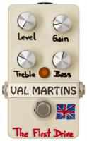 Pedal overdrive / distorsión / fuzz Val martins The First Drive