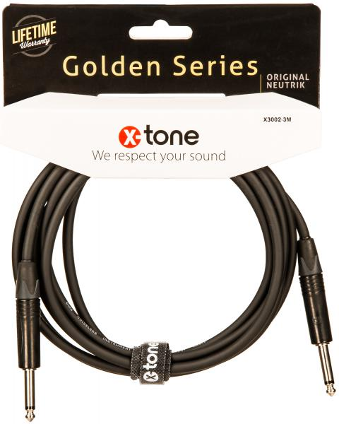 Cable X-tone X3002-3M Instrument Cable Right/Right 3m