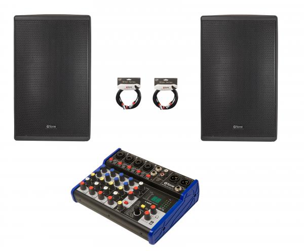 Altavoz activo X-tone Pack Sono 600 Watts 8 canaux